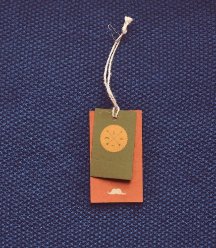 MUSTACHIO CLOTHING TAG